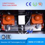 Mecanismo impulsor trifásico de la CA de la alta calidad de V&T V6-H con la operación de Stalbe con la tarjeta 0.4 de Encorder a 220kw-HD