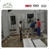 Casa casera prefabricada de la vida útil de la tarjeta larga del cemento