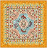 Silk Schals der Qualitäts-100%