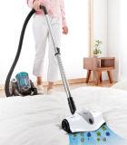 Suelo de la base del hogar conveniente usar aspirador