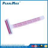 Haring Kitの低価格の使い捨て可能な剃る刃かみそり女性