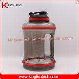 Het waterfles van de gymnastiek, de halve kruik van het gallonwater, 2.5L waterfles