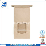 Guichet de sac de papier des petits et modérés prix de bénéfice