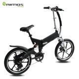 '' vélo électrique caché pliable de batterie de la roue 20