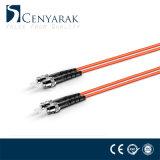 Câble duel à plusieurs modes de fonctionnement de connexion de fibre optique de la rue Om2