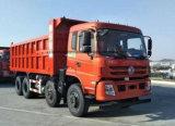 Capacidad pesada del volquete de los árboles de Dongfeng 8X4 4 40 toneladas de carro de vaciado
