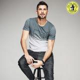 도매 소매 t-셔츠가 남자를 위한 최신 디자인 OEM 100%년 면 여름 셔츠에 의하여 누전한다