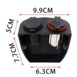 Car Motorcycle Dual 4.2A Chargeur USB 12V / 24V Cigarette Lighter Socket