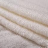 Nove generi di colori del tessuto di nylon delle lane nel bianco