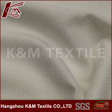 tissu blanc élastique de Spandex de jacquard de Spandex de 96%Polyester 4%