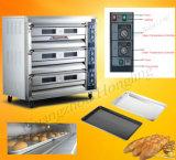 صناعيّ/محترفة/مترف مخبز تجهيز فرن كهربائيّة لأنّ عمليّة بيع