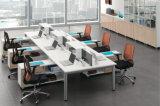 Poste de travail en forme de L fonctionnel multi de bureau avec le panneau d'écriture