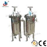 Carcaça de filtro personalizada industrial do saco do purificador da água do aço inoxidável multi