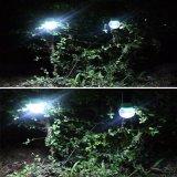 lâmpada portátil do bulbo do diodo emissor de luz da potência 3W solar para a luz ao ar livre do jardim da iluminação