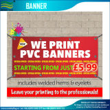Inkjet Digital impresión al aire libre de malla de vinilo bandera banderas (M-NF26P07002)