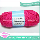 Knitting com desconto 40s Cor Mercerized Fios de Algodão Preço