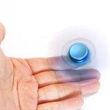 Spiraalvormige Spinner van het Metaal van het Speelgoed van de Spanning van de Bezorgdheid van de legering de Verlichtende Blauwe