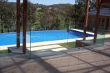 마개를 가진 수영풀 Frameless 옥외 유리제 방책