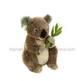 Mini jouet bourré de peluche d'ours de koala d'ICTI pour le bébé