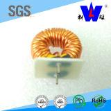 Estrangulación común del modo, bobina de estrangulación, inductor toroidal,