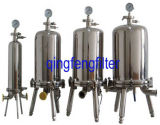 Cer bestätigte Filtergehäuse des Edelstahl-304 und 316 für flüssige Filtration