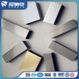Het borstelen van de Geanodiseerde Vierkante Buis /Pipe van het Aluminium met Verschillende Kleur
