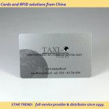 Karten silberne Karte VIP-Karte Hico im magnetischen Streifen