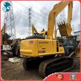 Excavatrice hydraulique de chenille de KOMATSU utilisée par 1.0~1.5m3bucket PC220-7 de bonnes conditions d'exportation à vendre