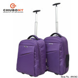 Chubont Hot Sell Trolley Backpack com compartimento para laptop