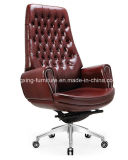 Direttore comodo lombo-sacrale Leather Excutive Office Chair (HX-AC029)