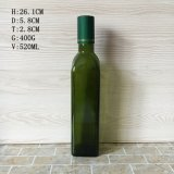 FDA Wholesale Armber Clear 250ml 500ml 1000ml Glass Olive Oil Bottle