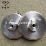 Rückseitiger Halter für Diamant-Polierauflagen, Aluminiumbeistand