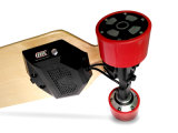Франтовской скейтборд Longboard 4 колес электрический с батареей лития LG