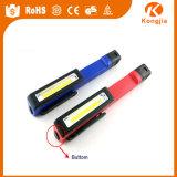 3W 2015 nuova torcia elettrica della casella di figura della penna luminosa del lavoro della PANNOCCHIA LED con il magnete