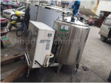 Prix de réservoir de refroidissement du lait d'acier inoxydable de la catégorie comestible 100L-200lsanitary