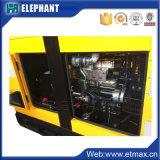 Genset水は4シリンダー28kw 35kVAディーゼル発電機を冷却した