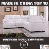 Sofa chaud de cuir de vente de divan en cuir moderne neuf d'arrivée