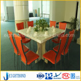 Leichtes Steinmarmoraluminiumbienenwabe-Panel für Tischplatten