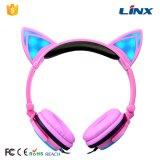 Nuevo auricular del gato del regalo de la venta al por menor del diseño de la mejor venta