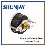 Termómetro bimetálico determinado del contacto eléctrico industrial