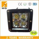12W indicatore luminoso del lavoro del CREE LED di 20W 3D 3 '' per il Wrangler della jeep