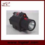 M6 6V 180lm Qd LEIDEN Tactisch Flitslicht & de Rode Zwarte van het Gezicht van de Laser