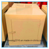 粉によって塗られる黄色いボックス鋼鉄容器カバー