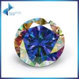 新製品の丸型のBrillant CZの石の組合せカラー立方ジルコニアの宝石用原石