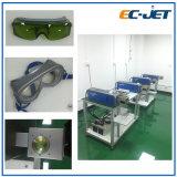 Impressora de laser de alta velocidade da fibra da máquina da codificação da tâmara do código de barras