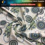 Stampa di Digitahi del pavone sul tessuto della saia del poliestere con pelo molle per la camicia