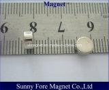 Aimant Dia6-10mm de cylindre de nickelage