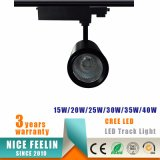 25W LEIDENE de van uitstekende kwaliteit van de MAÏSKOLF van CREE Lamp van het Spoor voor Winkels