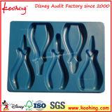 Cassetto di plastica dell'animale domestico blu di alta qualità per gli strumenti delle pinze