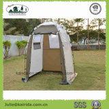 Ein Personen-einlagiges Toiletten-Zelt mit Fußboden